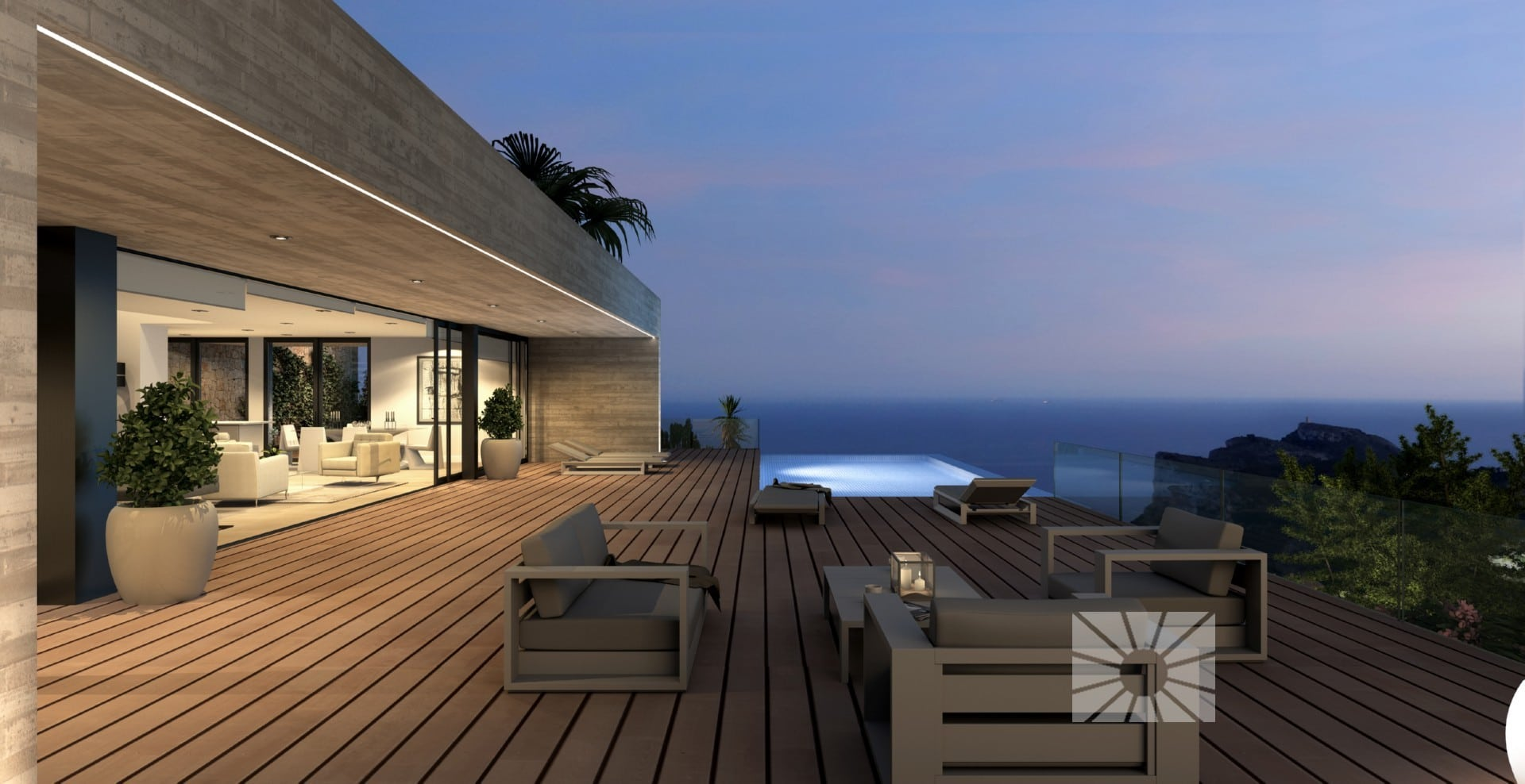 "Luxury Villa ""La Torre"" in Residential Resort Cumbre del Sol"