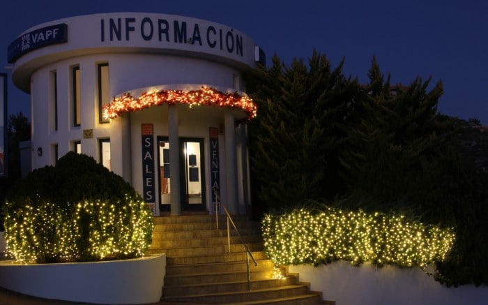 Opening hours of Grupo VAPF sales office at Residential Resort Cumbre del Sol
